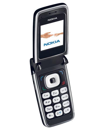 Nokia 6136 isometrisch, offen
