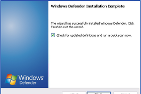 Windows Defender Beta 2