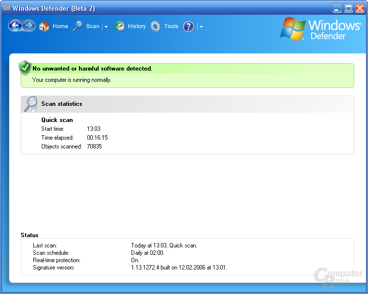 Windows Defender Beta 2