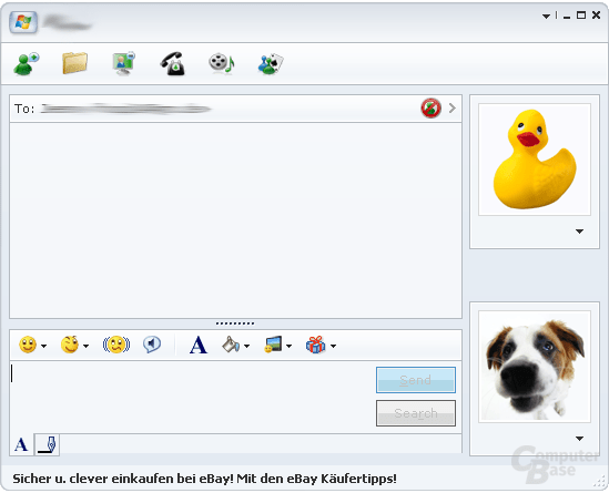 Windows Live Messenger 8 Build 562