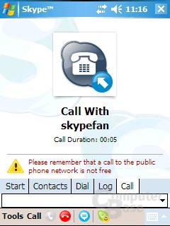 Skype PocketPC 2.0