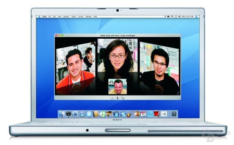 Apple MacBook Pro mit Intel-Prozessor
