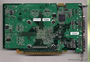 GeForce 7600 GT Rückseite