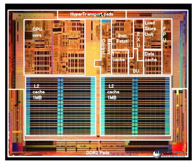 Athlon 64 Rev 7 Die-Shot - Quelle: HKEPC.com