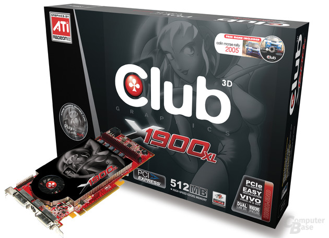 Club3D Radeon X1900 XL