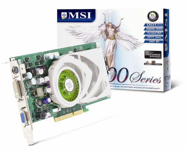 MSI GeForce 7800 GS