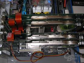 Foxconn-System mit Quad-SLI