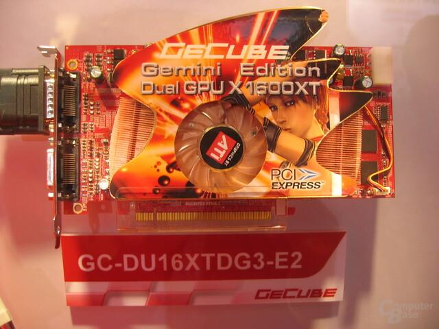 GeCube Dual X1600 XT