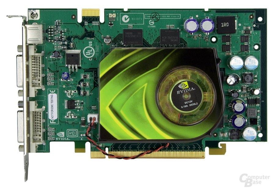 GeForce 7600 GT Vorderseite