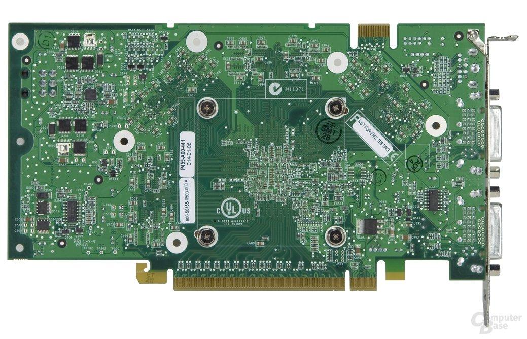 Rückseite GeForce 7900 GT