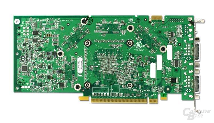 Rückseite GeForce 7900 GTX