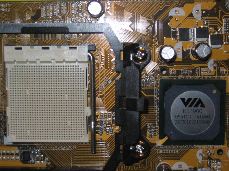 Asus M2V mit VIA K8T900
