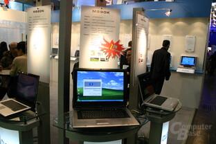 Clevo M590K mit GeForce Go 7800 GTX SLI