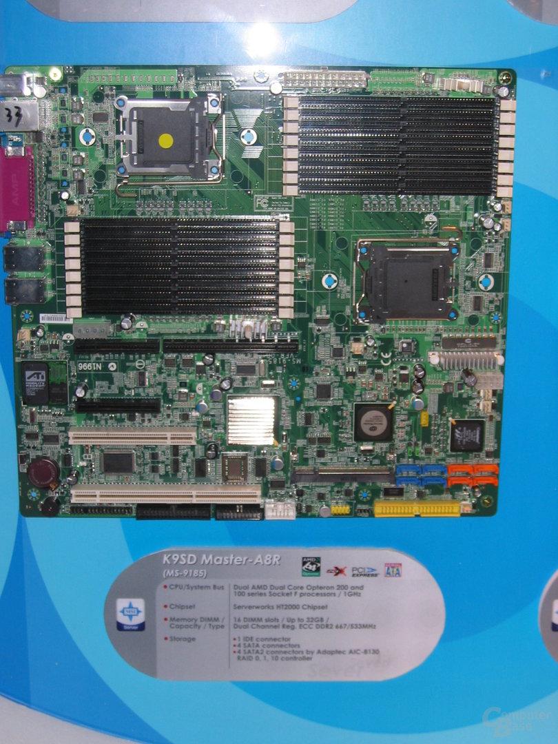 MSI K9SD Master A8R mit Sockel F