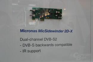 Micronas MicSidewinder 2D-X für DVB-S2