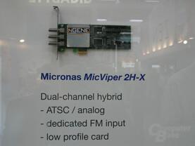 Micronas MicPython 2H-X Referenzdesign