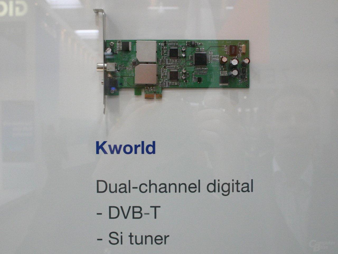 PCI-Express TV-Tuner von Kworld