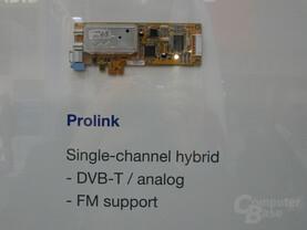 PCI-Express TV-Tuner von Prolink