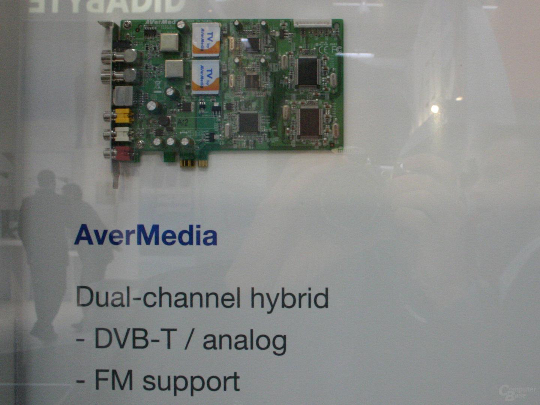 PCI-Express TV-Tuner von Aver Media