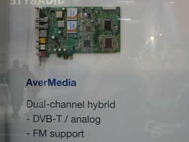 PCI-Express TV-Tuner von Aver Media