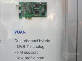 PCI-Express TV-Tuner von Yuan