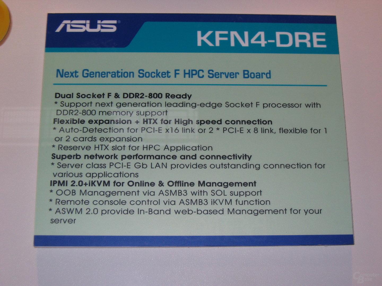 Asus KFN4-DRE Spezifikationen