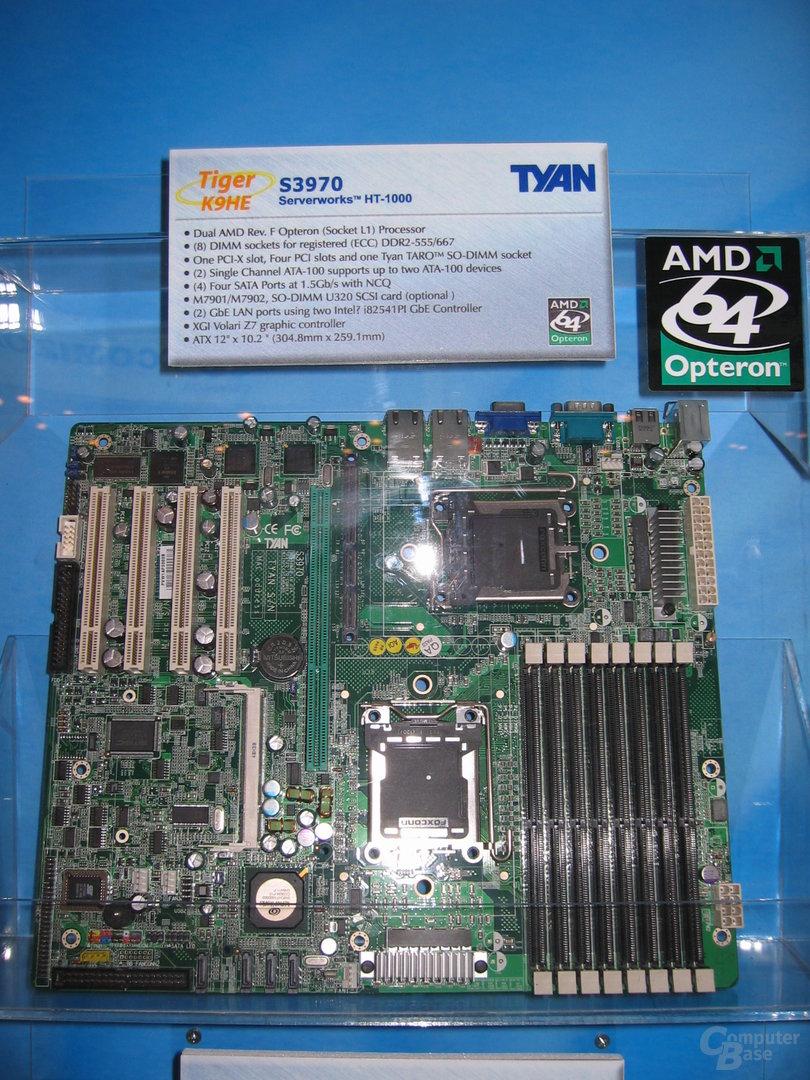 Tyan S3970 Sockel F-Mainboard