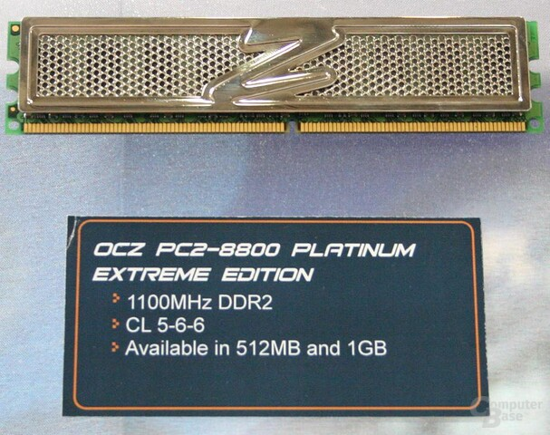 OCZ PC2-8800 Platinum Extreme Edition