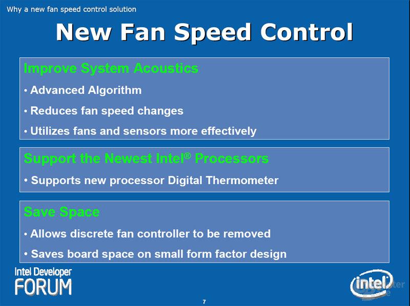 New Fan Speed Control
