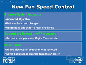 New Fan Speed Control