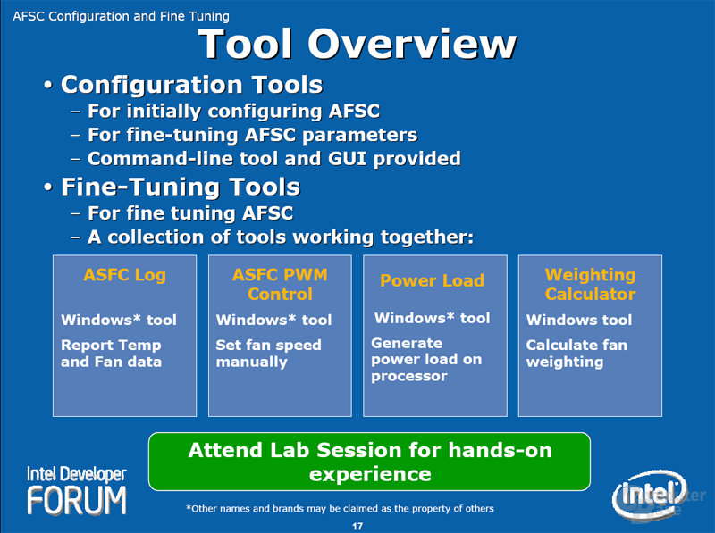 Tool Overview