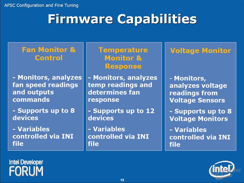 Firmware Capabilities