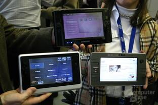Asus, Founder und Samsung mit Ultra Mobile PC