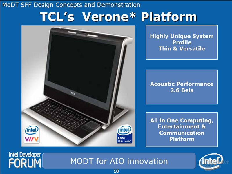 TCK's Verone Platform