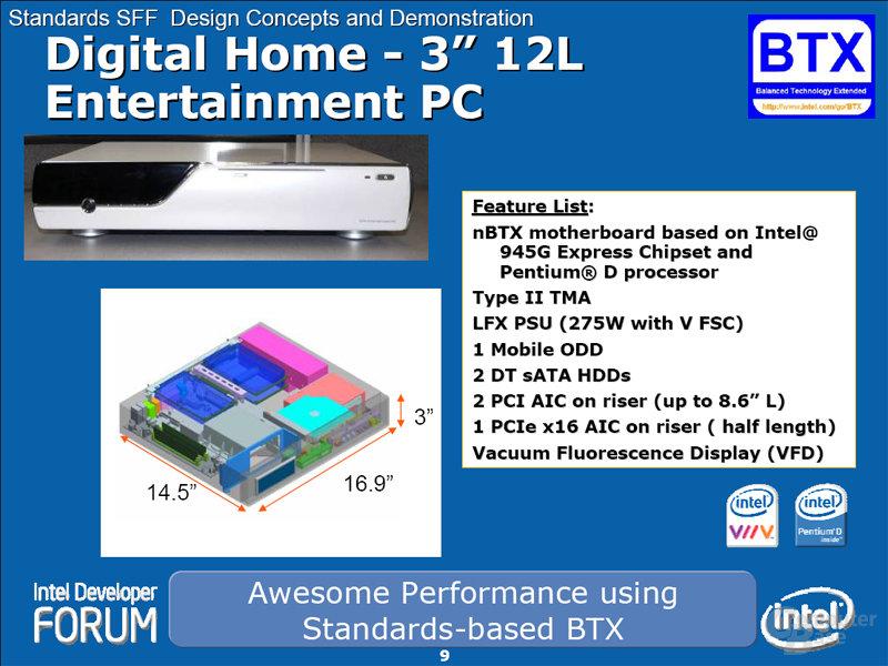 Digital Home Entertainment PC