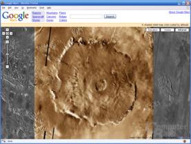 Olympus Mons – Infrarot