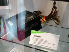 Netzteil der Odin-Serie von Gigabyte mit 480 Watt