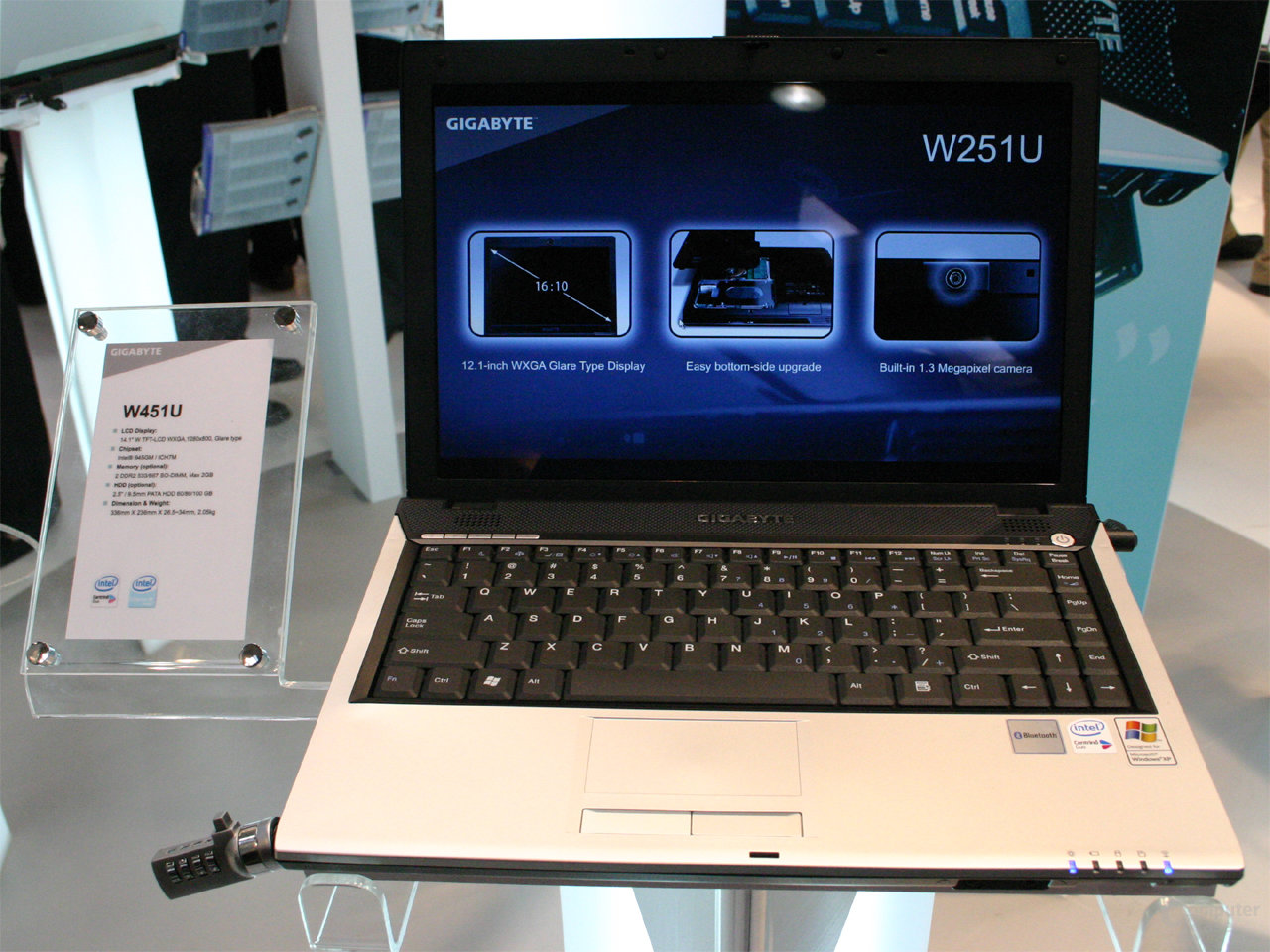 Gigabyte W451U Notebook