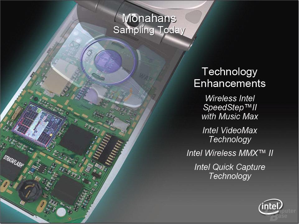 Neue Details von Xscale-Prozessor Monahans