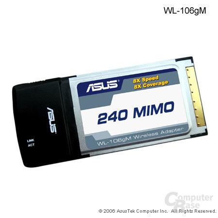 Asus WL-106gM Karte (PCMCIA)