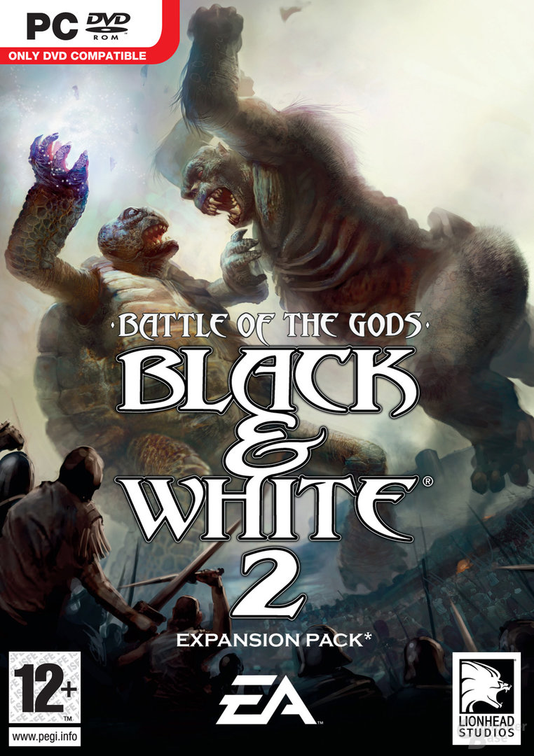 Black & White 2: Battle of the Gods Packshot