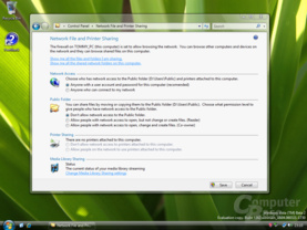 Windows Vista Dateifreigabe Build 5342
