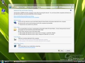 Windows Vista Dateifreigabe Build 5342