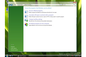 Windows Vista Systemsteuerung Build 5342