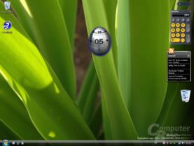 Windows Vista Sidebar Build 5342