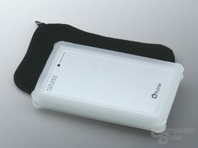 Plextor PX-SP08U in Schutzhülle