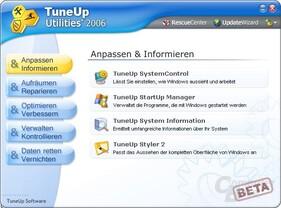 TuneUp 2006 Beta