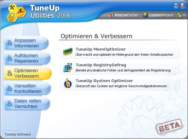 TuneUp 2006 Beta_3