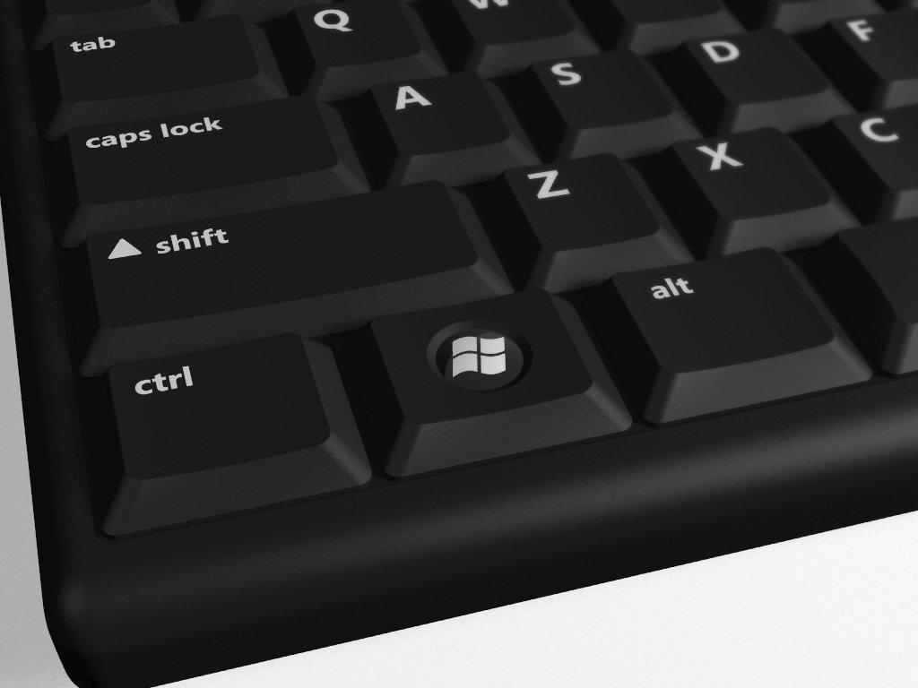 Tastaturen für Windows Vista