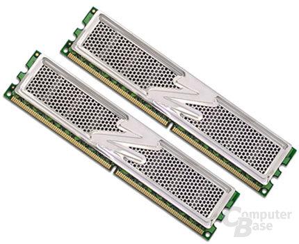 OCZ DDR2 PC2-5400 Platinum Enhanced Latency XTC Dual Channel